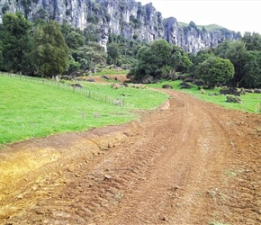 3. Building the Hobbit track  Mangaotaki Valley Piopio