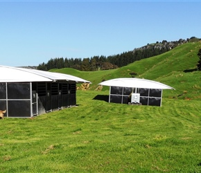8. Stables for some of the 50 Hobbit horses Mangaotaki Valley Piopio