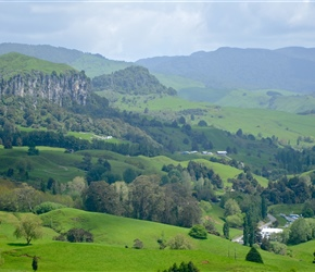 7. Denize Bluffs Mangaotaki Valley Piopio Waitomo filming The Hobbit