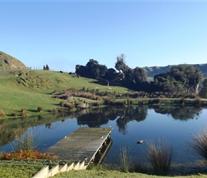 ponds youll see at Hairy Feet Waitomo 1