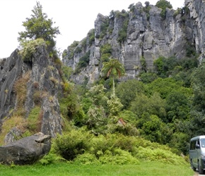 Take a short van ride to see the Hobbit film location Piopio 1