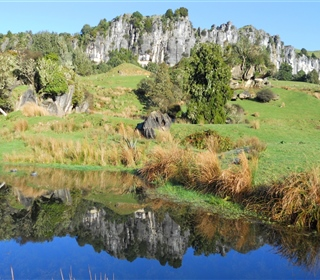 ponds youll see at Hairy Feet Waitomo 3
