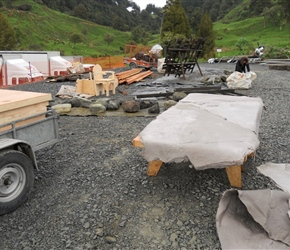 9. Set building for Hobbit film at Piopio NZ