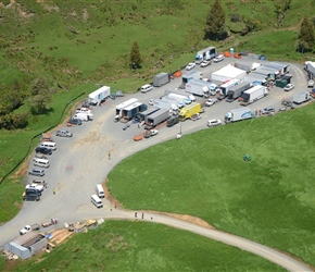 6. Technical Base for trucks filled with filming equipment Piopio NZ