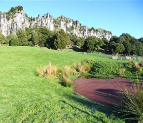 ponds youll see at Hairy Feet Waitomo 2